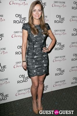 nicole laoin in NY Premiere of ON THE ROAD