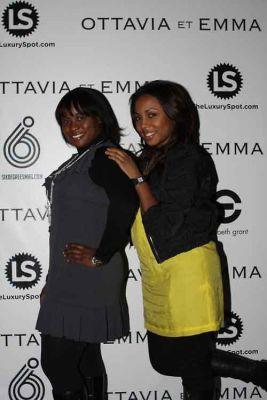 kela walker in Ottavia et Emma's Fashion Week Kick-Off Event