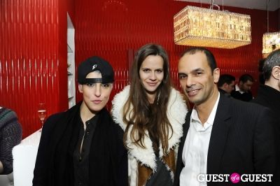 nicole nadeau in A Reception in Honor Serge Strosberg's Latest Exhibition