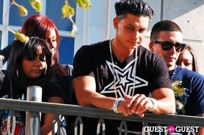 nicole polizzi in The Jersey Shore Cast At The Grove