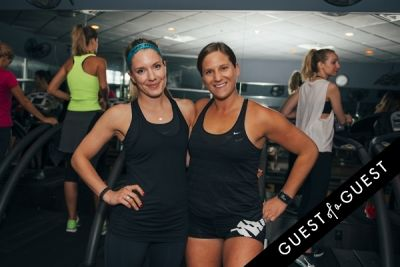 nicole sprunk in Vega Sport Event at Barry's Bootcamp West Hollywood