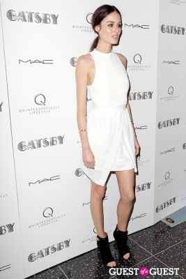 nicole trunfio in A Private Screening of THE GREAT GATSBY hosted by Quintessentially Lifestyle
