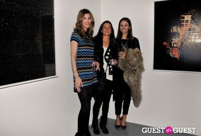 nicole walsh in Garrett Pruter - Mixed Signals exhibition opening