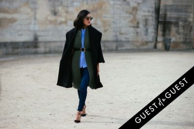 nicole warne in Paris Fashion Week Pt 4