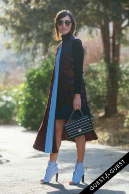 nicole warne in Paris Fashion Week Pt 5