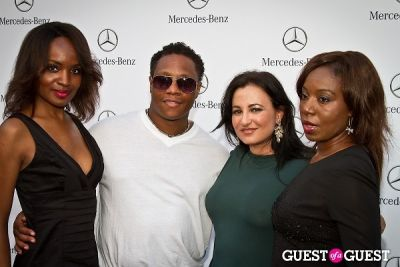 samantha von-sperling in Mercedes Benz Manhattan Grand Opening