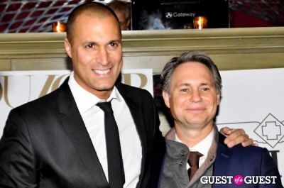 nigel barker in DUJOUR Magazine February Issue Launch Party