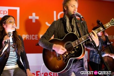 paul mcdonald in JCP Pop-Up with Joe Fresh