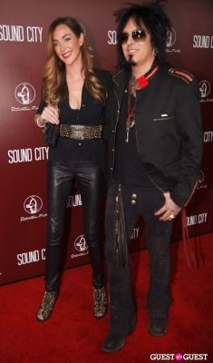 nikki sixx in Sound City Los Angeles Premiere