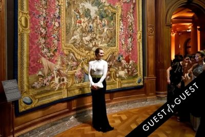 nina delano in The Frick Collection Young Fellows Ball 2015