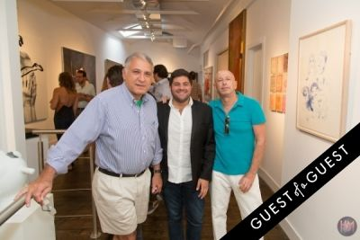 peter pfeffer in Gallery Valentine, Mas Creative And Beach Magazine Present The Art Southampton Preview