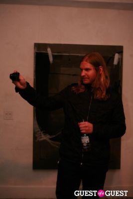 noah conopask in Brian Sensebe + Federico Saenz-Recio opening reception
