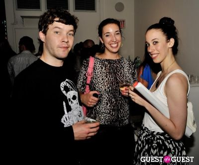 nolan grunwald in FLATT Magazine Closing Party for Ryan McGinness at Charles Bank Gallery