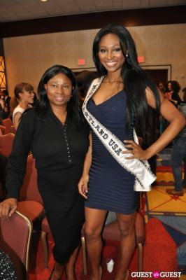 nana meriwether in Miss DC USA 2012 Pageant
