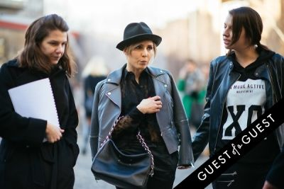 noomi rapace in London Fashion Week Pt 3