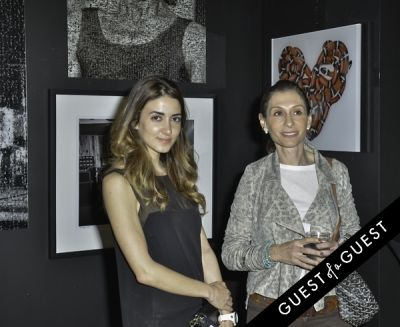 noor ghssoub in Mouche Gallery Presents the Opening of Artist Clara Hallencreutz's Exhibit