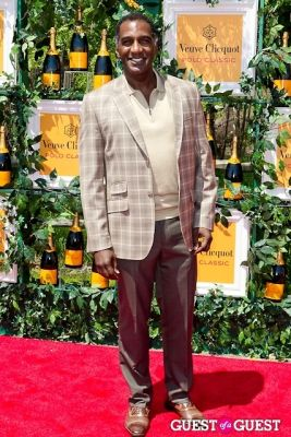 norm lewis in Veuve Clicquot Polo Classic 2013