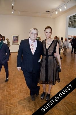 norman rosenthal in Jeff Koons: A Retrospective Opening Reception
