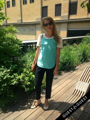 olga bondaruk in Summer 2014 NYC Street Style