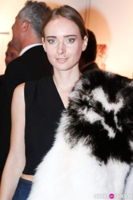 olga sorokina in New York Academy of Art's 2013 Tribeca Ball