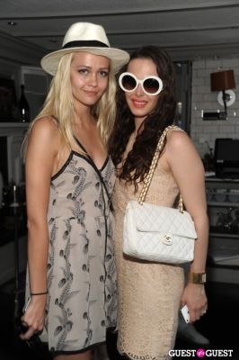 jannah baroody in Beaumarchais Midsummer White Party Brunch