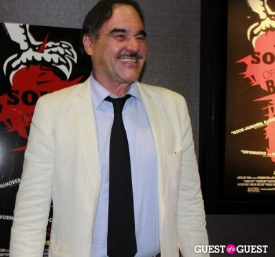 oliver stone in NY Premiere of 'South of the Border'