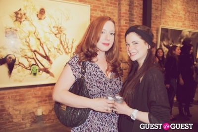 olivia allin in Private Reception of 'Innocents' - Photos by Moby