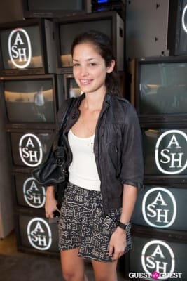 olivia cuervo in The Ash Flagship NYC Store Event