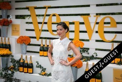 olivia munn in Veuve Clicquot Polo Classic 2014