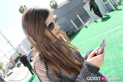 olivia owen in Lucky Shops LA 2011