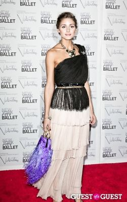 olivia palermo in New York City Ballet Fall Gala Celebrates Valentino