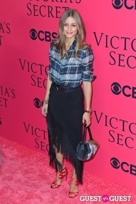 olivia palermo in 2013 Victoria's Secret Fashion Pink Carpet Arrivals