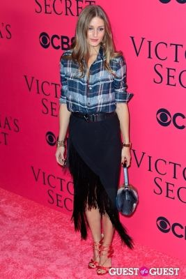 olivia palermo in 2013 Victoria's Secret Fashion Pink Carpet Arrivals
