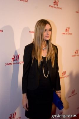 olivia palermo in H&M Introduces The Commes Des Garcon Collection