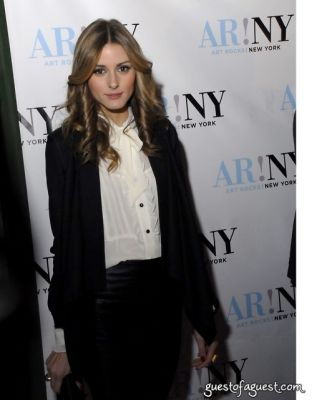 olivia palermo in ART ROCKS BENEFIT - Bowery Hotel