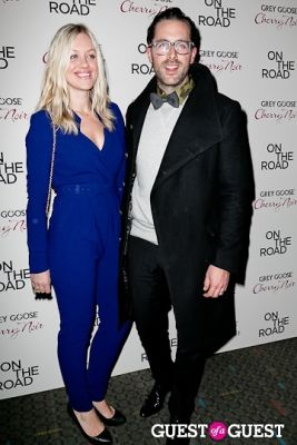 olivia skuza in NY Premiere of ON THE ROAD