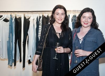 olivia vincent in Anine Bing, Flagship Store Opening