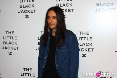 olivier theyskens in The Little Black Jacket: CHANEL's Classic Revisited by Karl Lagerfeld and Carine Roitfeld New York's Exhibition