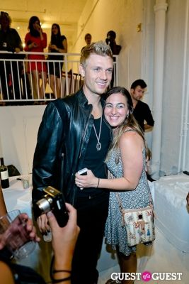 omg me-and-nick!!! in Tyler Shields and The Backstreet Boys present In A World Like This Opening Exhibition