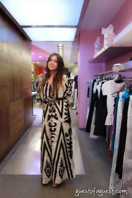 oriana neidecker in Sip & Shop for a Cause benefitting Dress for Success