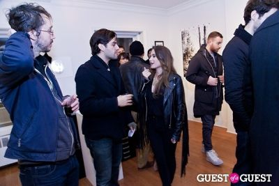 livia coullias-blanc in Galerie Mourlot Livia Coullias-Blanc Opening