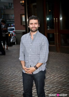oscar isaac in Screening of The Debt