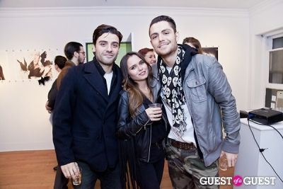 gonzalo marroquin in Galerie Mourlot Livia Coullias-Blanc Opening