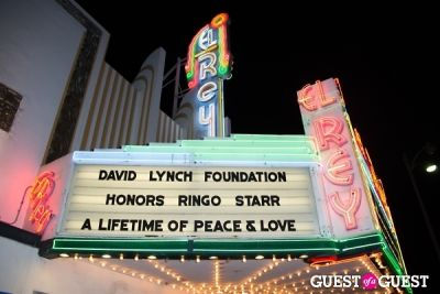 "outside the-el-rey in Ringo Starr Honored with ""Lifetime of Peace & Love Award"" by The David Lynch Foundation"