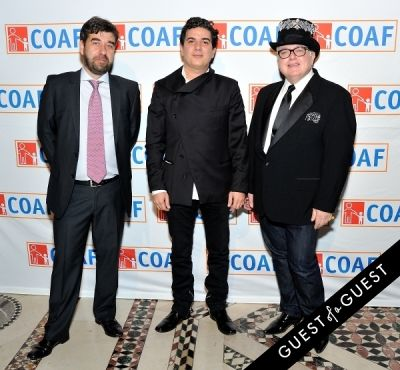 fares rizk in COAF 12th Annual Holiday Gala