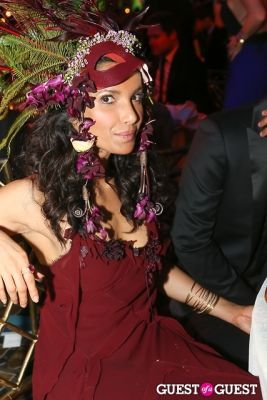 padma lakshmi in Save Venice Enchanted Garden Ball