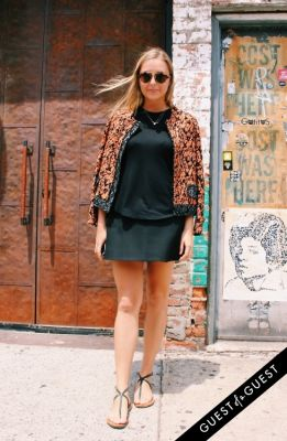 paige yourtee in NYC Meatpacking District Street Style Summer 2015