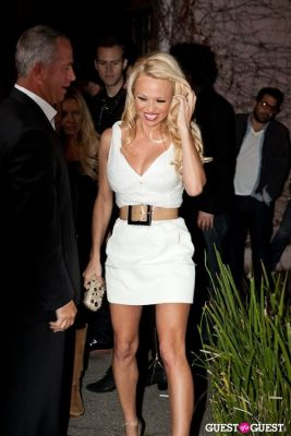 pamela anderson in Terrywood - Terry Richardson Gallery Opening