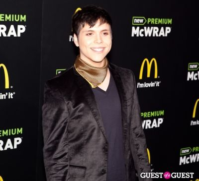 paolo ramirez in McDonald's Premium McWrap Launch With John Martin and Tyga Performance