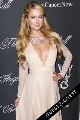 paris hilton in Angel Ball 2014